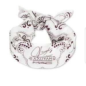 NWT Aaliyah MAC Bandana Limited Edition